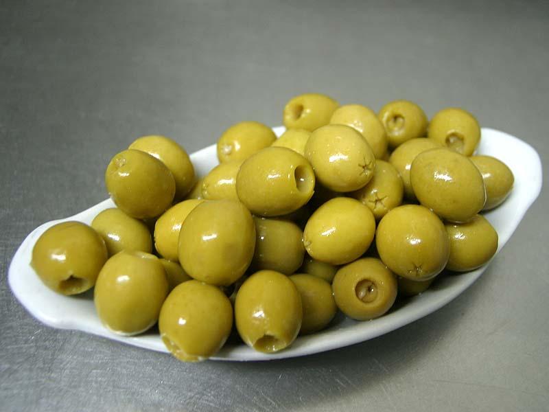 tapa de olivas