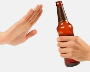 no al alcohol
