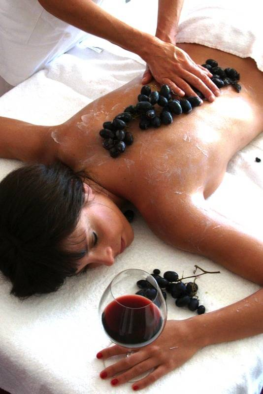 vinoterapia masajes
