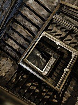 escaleras miedo
